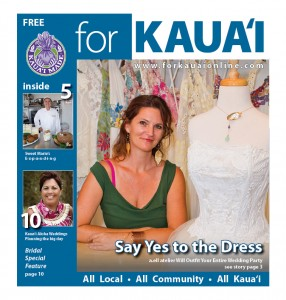 """For Kaua`i"" June 2012 cover"