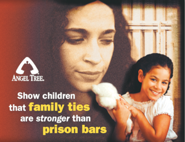 During the holidays, Angel Tree reaches out to children who have an incarcerated parent. Courtesy photo