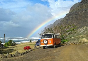 Polihale State Park last December. Photo by Tiallah Mortell