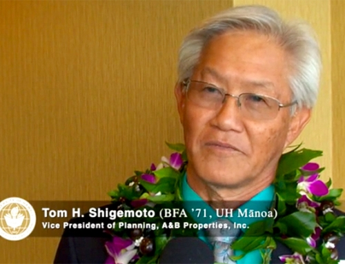 Kaua'i's Shigemoto Honored Among Outstanding UH Alumni (w/ video)