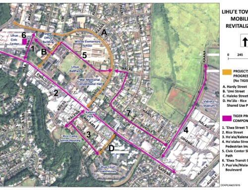 Open House, Presentation on Līhu'e Town Core Project Thursday