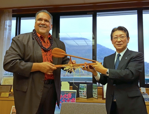 Mayor Returns from Goodwill Tour of Japan