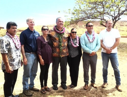 Blessing Held for Kekaha Landfill Gas Collection Project