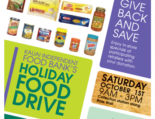 Kukui Grove Center to Hold 14th Annual Kaua'i Independent Food Bank Holiday Kick-off Food Drive