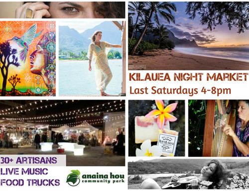 Kilauea Night Market at Anaina Hou Saturday