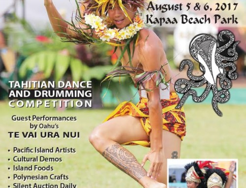 For Kauai Calendar Events for August 2017