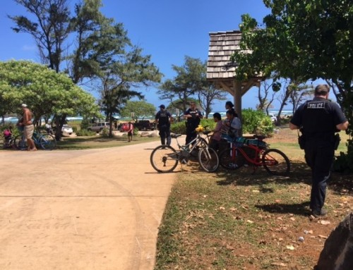 Police Arrests 8, Removes Illegal Campsites in Kapa'a, Līhu'e