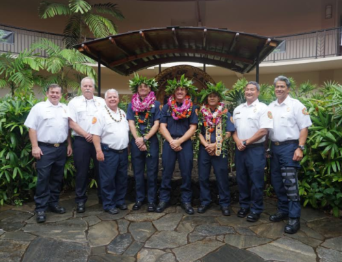 Fire Department Holds Promotions Ceremony