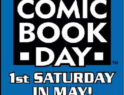 Get a Free Comic Book at 24 Libraries Statewide – May 5