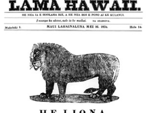 19th Century Native Hawaiian Newspapers Show 1871 Hurricane Damages