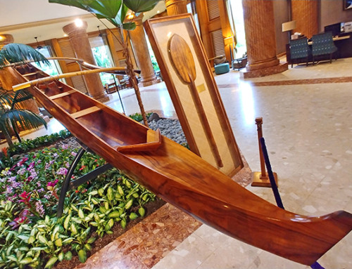 Hawaiian Canoe Building