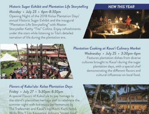 The Shops at Kukui'ula to Host 33rd Annual Koloa Plantation Days