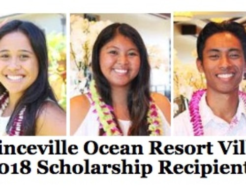 The Westin Princeville Ocean Resort Villas Announces 2018 Scholarship Recipients