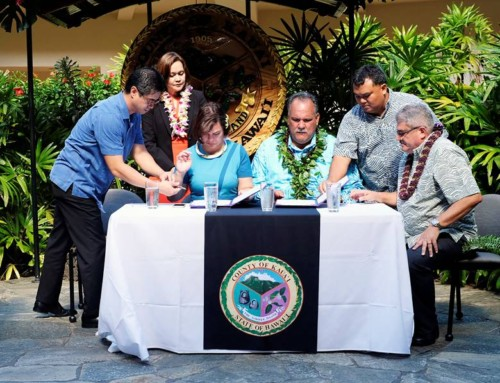 Dozens Attend Sister City Signing Ceremony for Kaua'i and Davao
