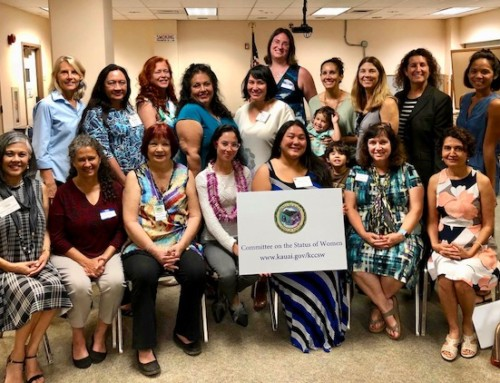 Executive Director Visits Kauai Committee on the Status of Women