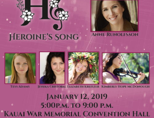 For Kauai Calendar Events for January 2019
