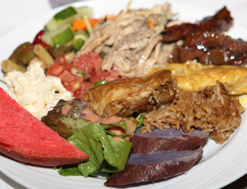 Local Dishes at Smith's Family Garden Luau