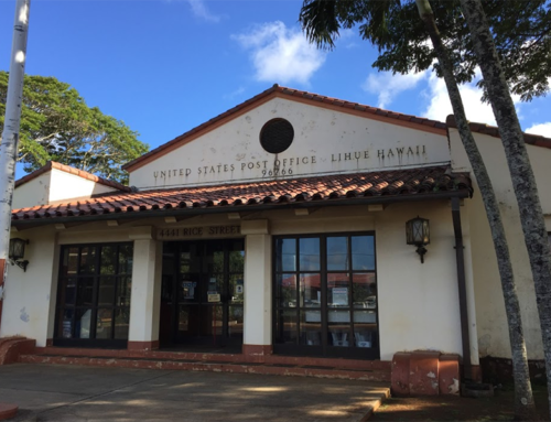 USPS Cancels Relocation of Līhu'e Post Office