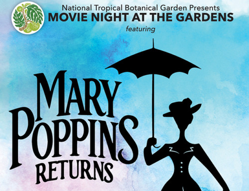 Mary Poppins at NTBG this Weekend