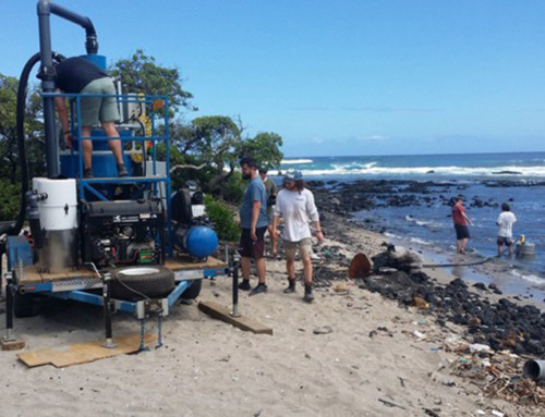 Microplastics Cleaning Machine Tested on Big Island