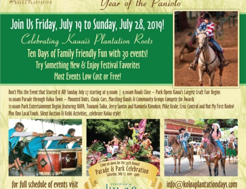 Road closures, modified bus schedule announced for Historic Kōloa Plantation Days Parade on July 27