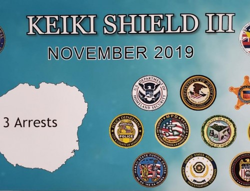 Statement from KPD Chief Todd Raybuck, Prosecuting Attorney Justin Kollar on operation Keiki Shield
