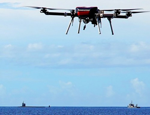 UH Assists Navy in Developing Drone Deliveries to Subs at Sea