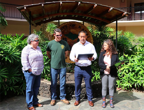 Mayor, Council Recognize DLNR Staff for Dog Rescue (w/ video)