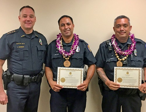KPD Officers Commended for Tactics To Disarm Subject
